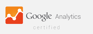 Google Analytics Certified Agency Badge